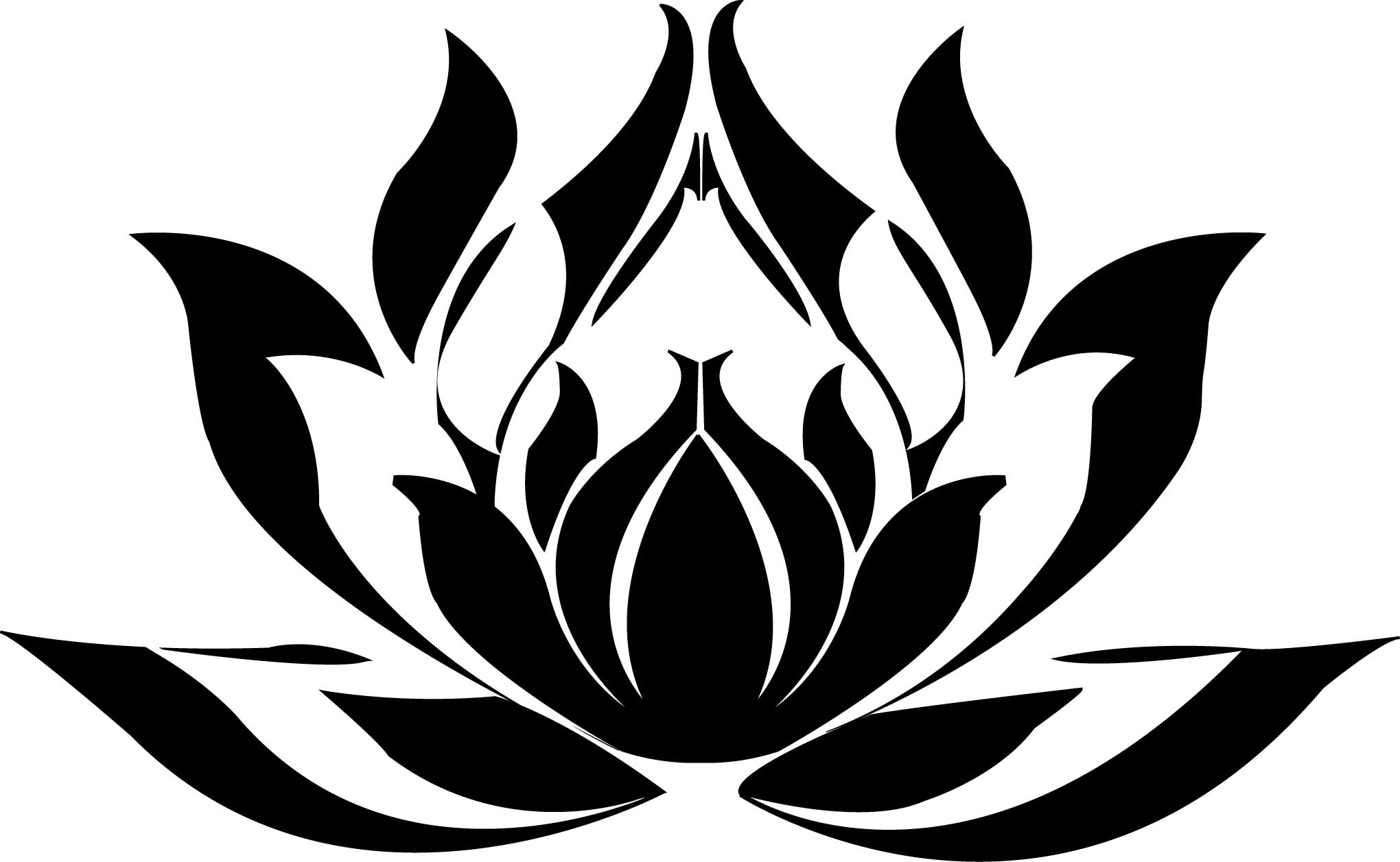 Tribal lotus flower lektonfo tribal lotus flower izmirmasajfo